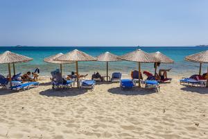 Beach in Naxos Island, Greece by Ali Kabas