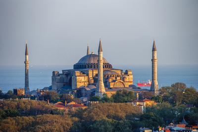 Hagia Sophia Church/Mosque/Museum, Istanbul, Turkey
