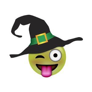 Emoji One Eye Witch by Ali Lynne