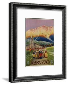 Abruzzo Poster by Alicandri
