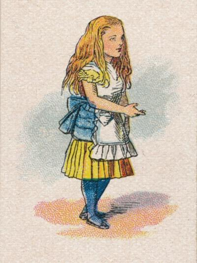 Alice and the Thimble, 1930-John Tenniel-Giclee Print