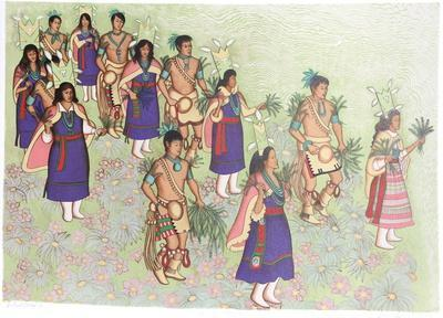 Harvest dancers