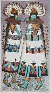 Shalako Dancers by Alice Asmar