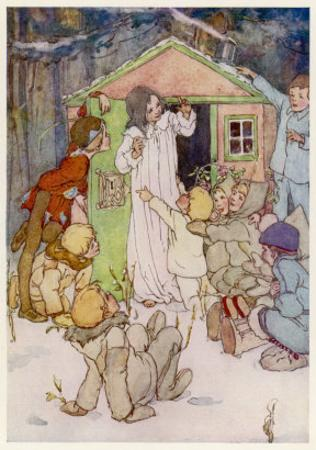 Wendy and Her Wendy House by Alice B^ Woodward