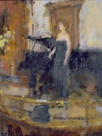 Alice Coote at the Wigmore Hall-Bernard Dunstan-Giclee Print