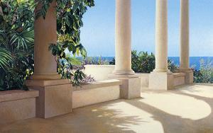 Island Columns by Alice Dalton Brown