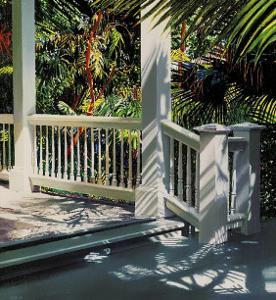Small Glittering Porch by Alice Dalton Brown