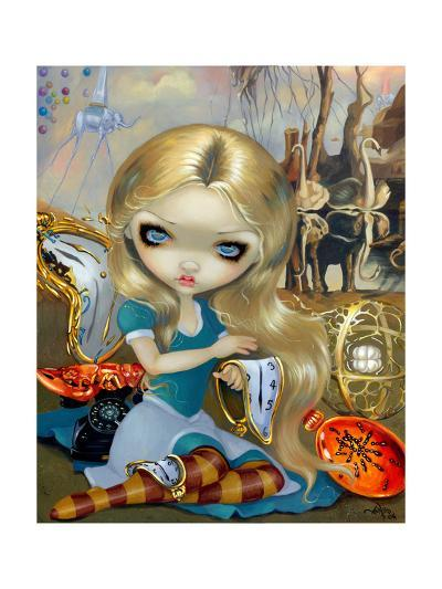 Alice in a Dali Dream-Jasmine Becket-Griffith-Art Print