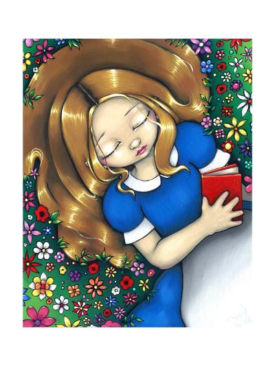 Alice in Wonderland :  Alice Dreaming-Jasmine Becket-Griffith-Art Print