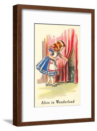 Alice in Wonderland, Alice Finds Door