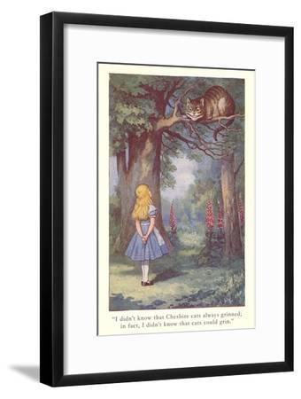 Alice in Wonderland, Cheshire Cat