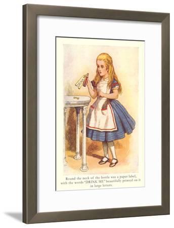 Alice in Wonderland, Drink Me
