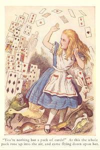 Alice in Wonderland, Flying Cards