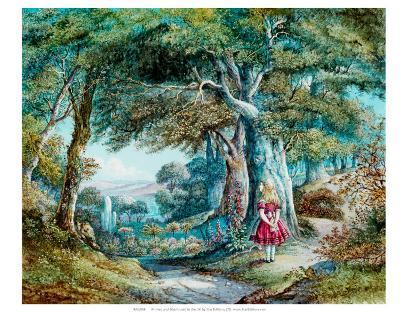 Alice in Wonderland--Art Print