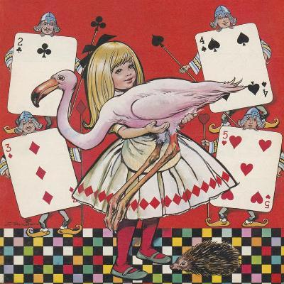 Alice in Wonderland-Jesus Blasco-Giclee Print
