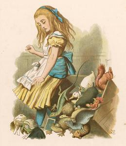 Alice with squirrel