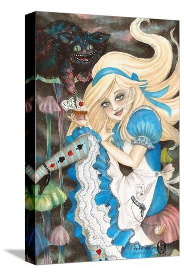 Alice-Rachel Walker-Stretched Canvas Print