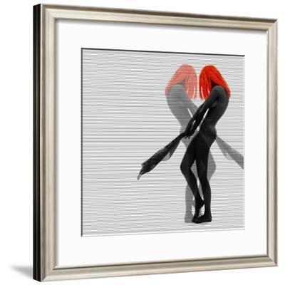Alice-NaxArt-Framed Premium Giclee Print