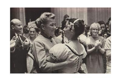 Alicia Alonso and Yekaterina Furtseva, 1958--Giclee Print