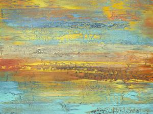 Golden Landscape by Alicia Dunn