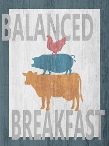 Balanced Breakfast One by Alicia Soave