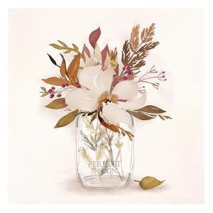Autumn Mason Jar 1 by Alicia Vidal