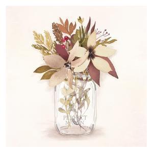 Autumn Mason Jar 2 by Alicia Vidal