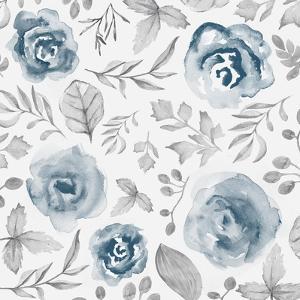Blue Fade Foliage by Alicia Vidal