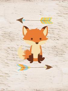 Fox On Wood by Alicia Vidal