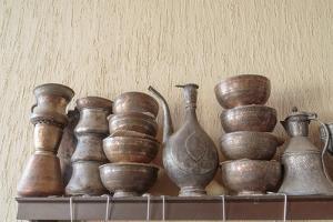 Azerbaijan, Lahic. A Collection of Engraved Bowls and Kettles by Alida Latham