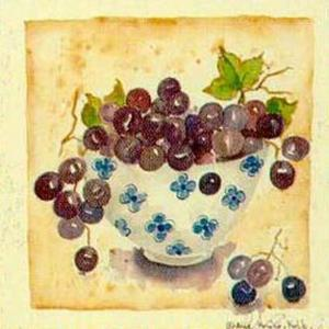 Blue Grapes by Alie Kruse-Kolk