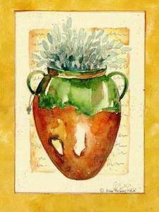 Brown Pot I by Alie Kruse-Kolk
