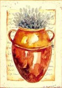 Brown Pot II by Alie Kruse-Kolk