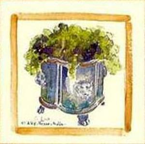 Flower Pot II by Alie Kruse-Kolk