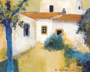 Patio I by Alie Kruse-Kolk