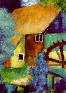 Water Mill by Alie Kruse-Kolk
