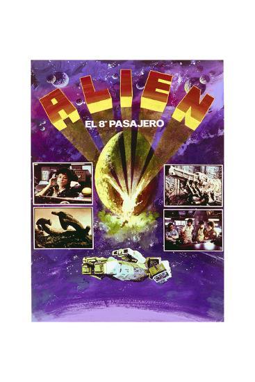 Alien - Movie Poster Reproduction--Art Print