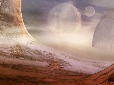 Alien Planet-Carol & Mike Werner-Photographic Print