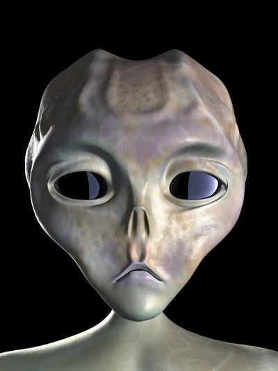 Alien-Roger Harris-Photographic Print