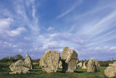 Alignments of Standing Stones--Giclee Print