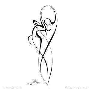 Dancing Couple III by Alijan Alijanpour