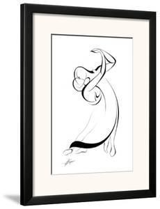 Dancing Couple IX by Alijan Alijanpour