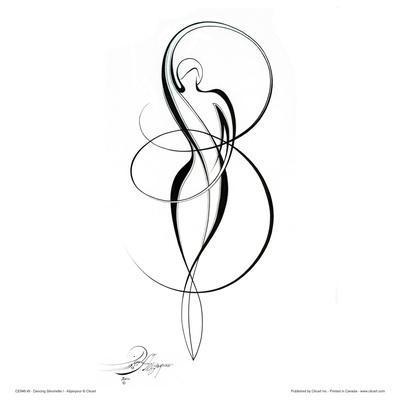 Dancing Silouhette I
