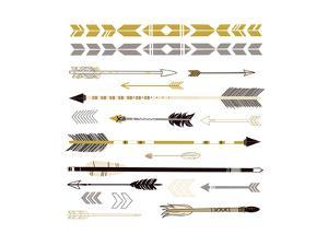 A Set of Cute Hipster Arrows, Hand Drawn Doodles by Alisa Foytik