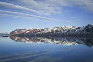 Arctic, Svalbard, Spitsbergen, Liefdefjord, Scenic Polar Landscape Image of Mountain Fjord by Aliscia Young