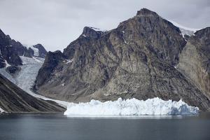 Greenland, Bjoren Oer, Receding Glacier by Aliscia Young