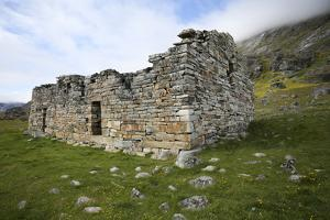Greenland, Hvalsey Aka Whale Island, the Ruins of the Church House by Aliscia Young
