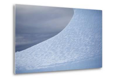 Nuussuaq Peninsula, Qaasuitsup, Saqqaq. Close-Up of Iceberg Surface, Caused by Wind
