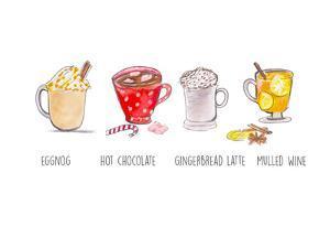 Xmas Drinks by Alison B Illustrations