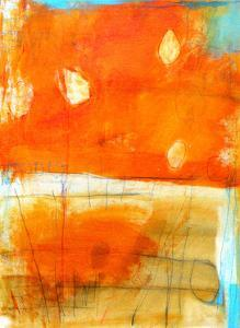 Orange Abstract, c.2009 by Alison Black